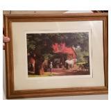 Paul Detlefsen Blacksmith Print Framed