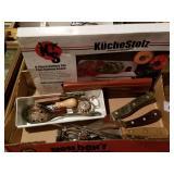 Kitchen Gadgets & Boxed Knife Set