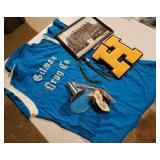 Gilman Drug Co Shirt, Chrome Side Mirror, Bolo, et