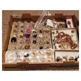 Huge Lot of Estate Jewelry - Necklaces, Earrings,