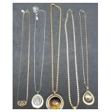 Group of 5 Estate Necklaces