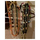 Large Lot of Estate Necklaces