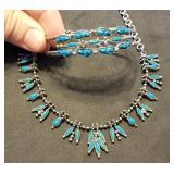 Southwestern Turquoise Necklace & Bracelet