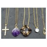 Nice Group of Pendant Necklaces