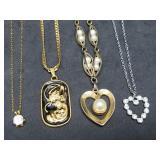 Four Nice Pendant Necklaces