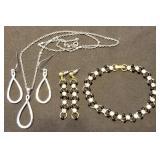 Bracelet & Earring Set and Necklace & Earring Set
