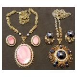 Two West Germany Necklace & Earring Sets