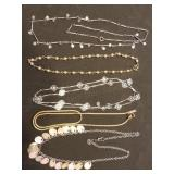 Group of 5 Estate Chain Necklaces