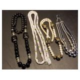 Group of 4 Estate Necklaces