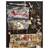 Large Lot of Estate Jewelry, Rings, Necklaces, etc