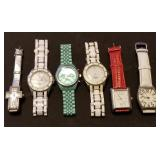 Group of Ladies Wrist Watches