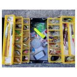 My Buddy Tacklemaster Tackle box & Lures, Loaded
