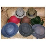Group of Vintage Dress Hats