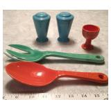 Fiesta Shakers,Egg Cup,Utensils