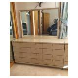 12 drawer dresser with mirror