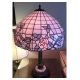 Leaded Stained Glass Lamp