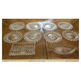 American Fostoria Plates and Dishes