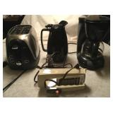 Toaster, Coffee Pot, Mixer