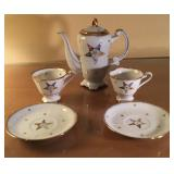 Masonic Tea Set