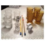 Thermometers,Cups, Shakers