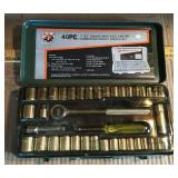 Buffalo 40 pc .Socket Wrench Set