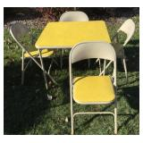 Samsonite Folding Table and Chairs