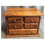 Oak Dresser Top Chest