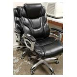 2 Pleather Executives Chairs