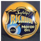 Richlube Motor Oil Metal Sign