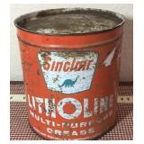 Sinclair Litholine Grease Can