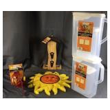 Sun, Bird Feeders, Dispensers