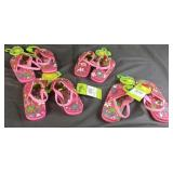 Western Chief Pink Girls Flip Flops