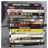 Stack of 15 DVD Movies