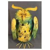 Funky Metal Bobble Owl