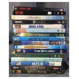 Stack of 16 DVD Movies
