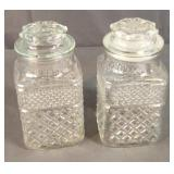 Antique Glass Candy Jars