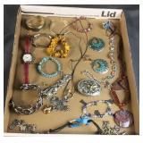 Flat of Jewelry