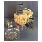 Steamers, Baskets, Graters, Measuring Cup