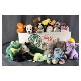 Box Full Of Stuffed Animals