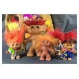 Box Full Of Troll Dolls