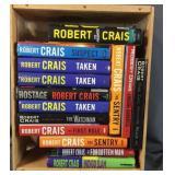 Crate Full Of Robert Crais Books
