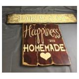 Decorative Wood Signs