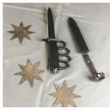 Knife/ Knuckles/ Ninja Stars