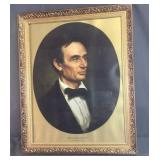 Framed Abraham Lincoln Picture
