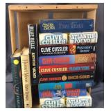 Crate Full Of Clive Cussler & Other Authors