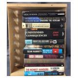 Crate Full Of Political Books