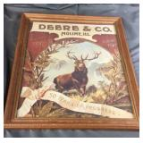 Deere & Moline Framed Picture