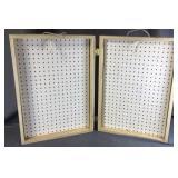 Peg Board Display