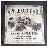 Metal Apple Orchard Sign
