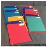 15 Baseball Card Folders